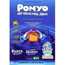 Ponyo ant uolos prie jūros